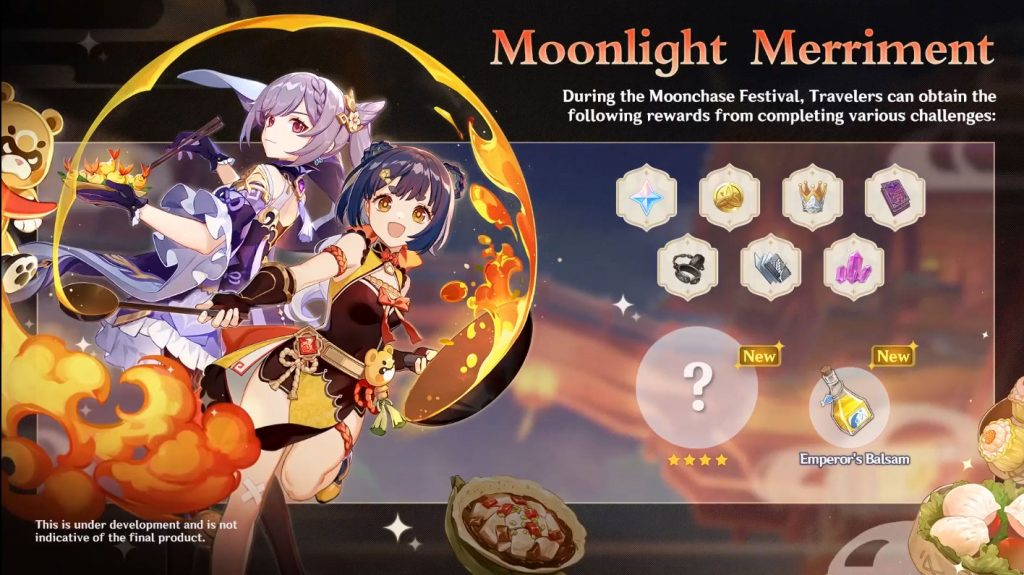 Genshin Impact 2.1 - Moonlight Merriment