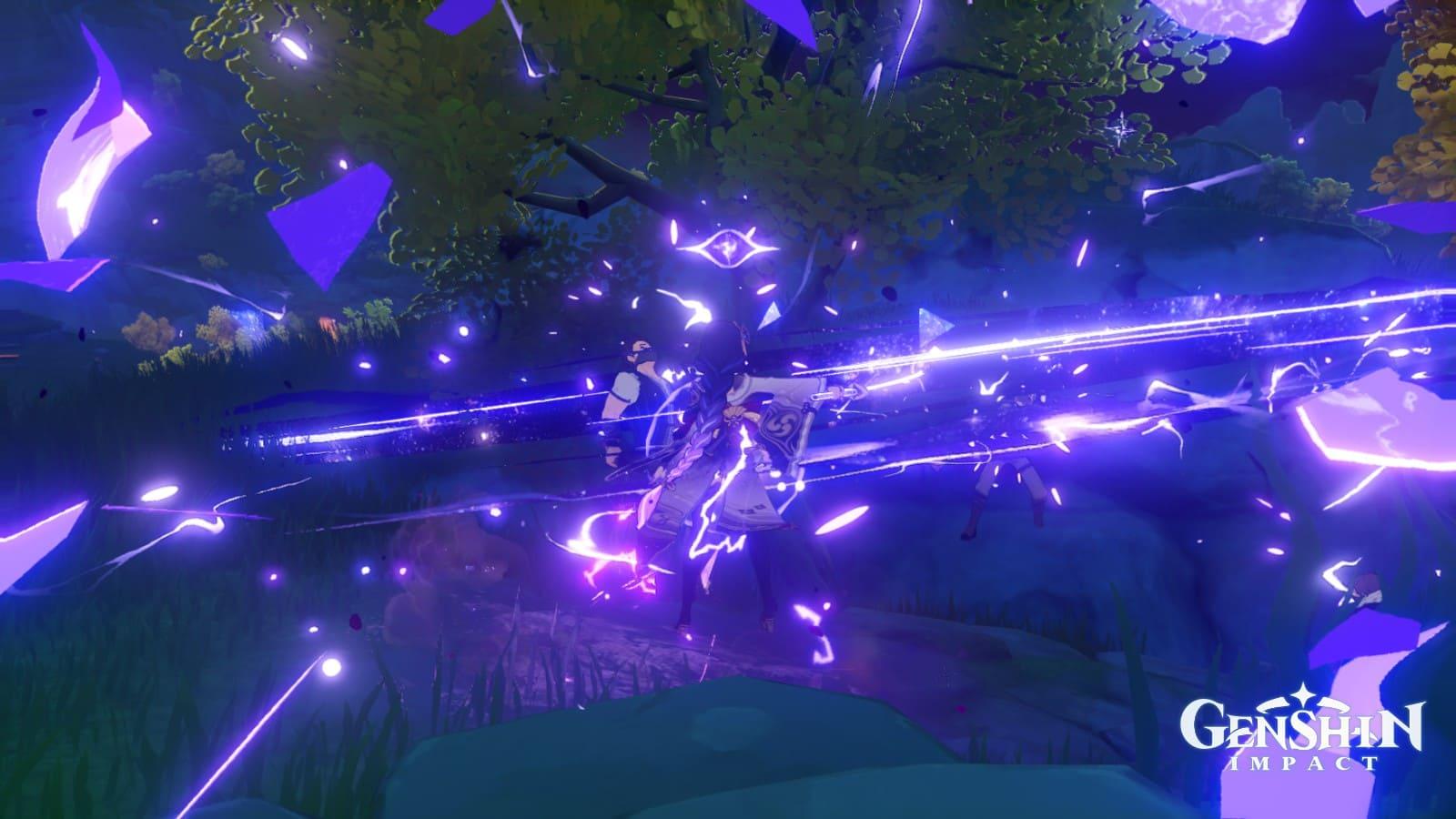 Genshin Impact - Raiden Shogun ท่าไม้ตายในเกม