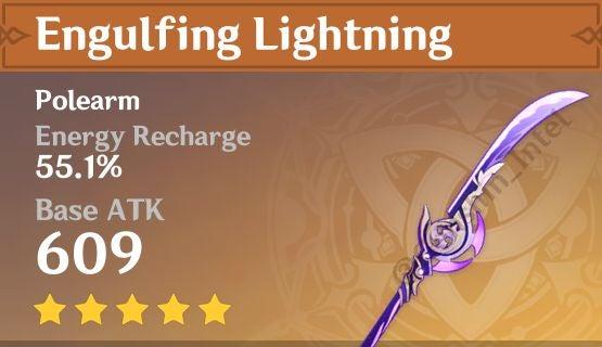 Genshin Impact - Raiden Shogun Engulfing Lightning
