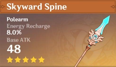Genshin Impact - Raiden Shogun Skyward Spine