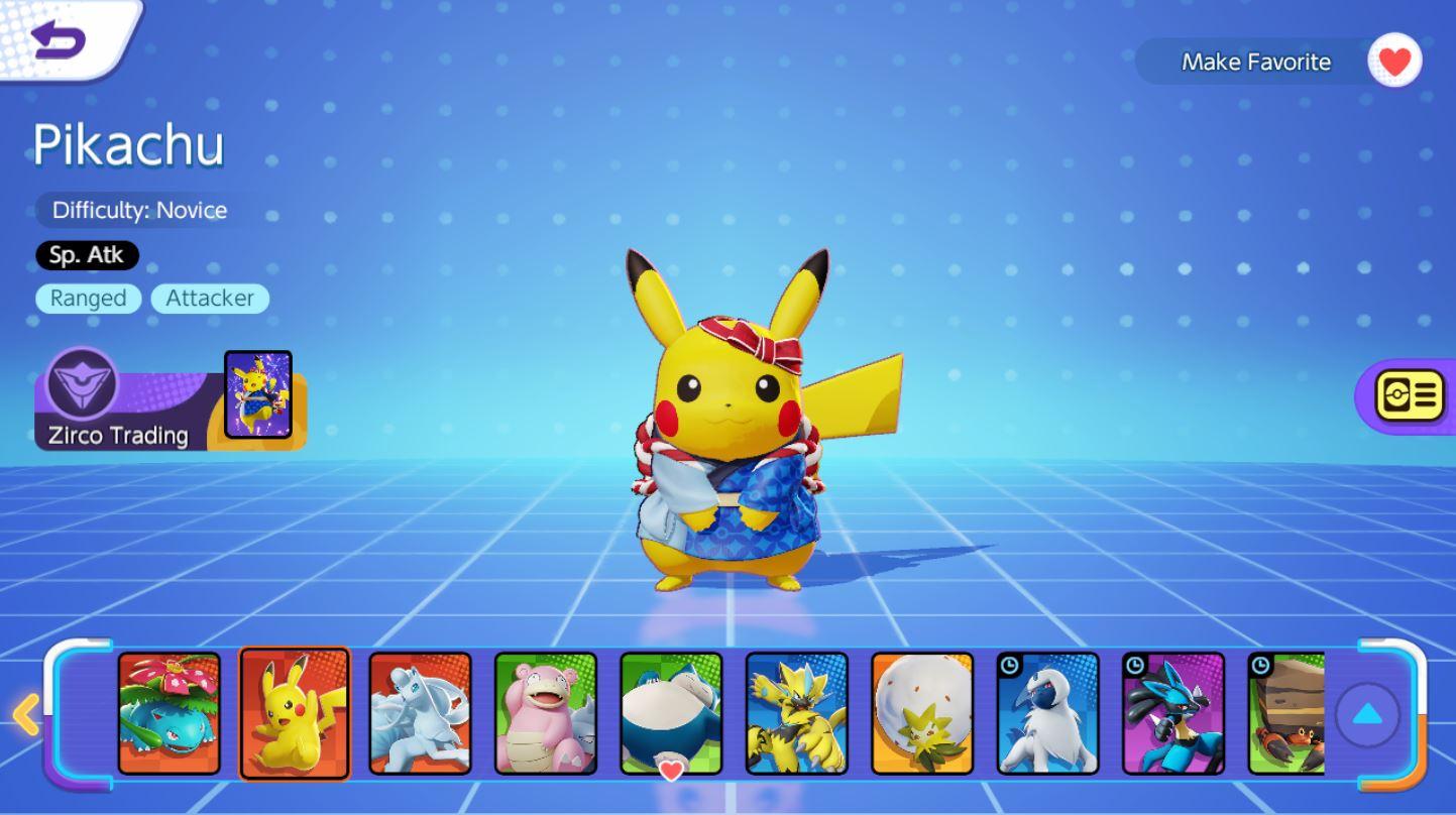 Pokemon Unite กิจกรรม Pre Registration Campaign