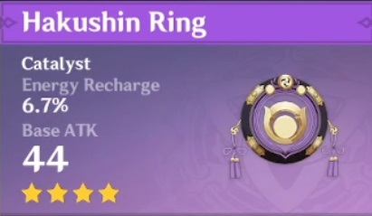 Genshin Impact - Kokomi Hakushin Ring