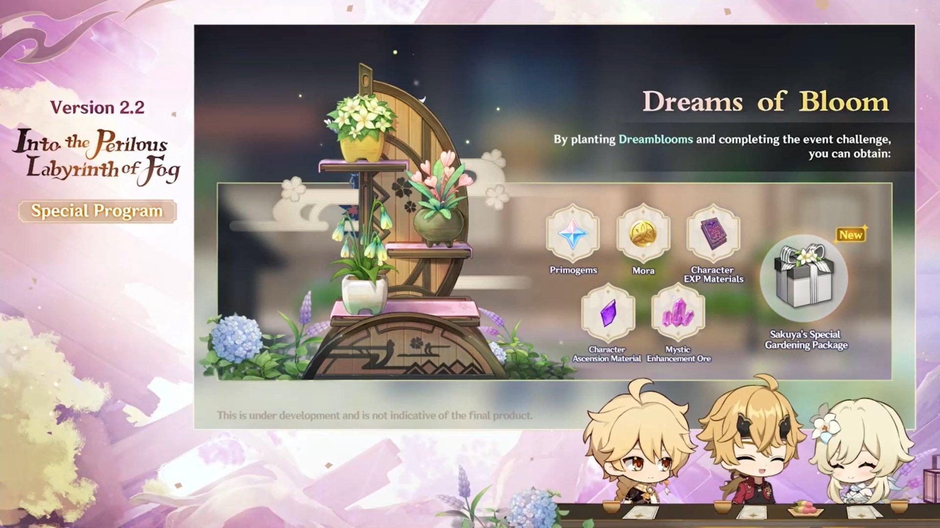 Genshin Impact 2.2 - Dreams of Bloom