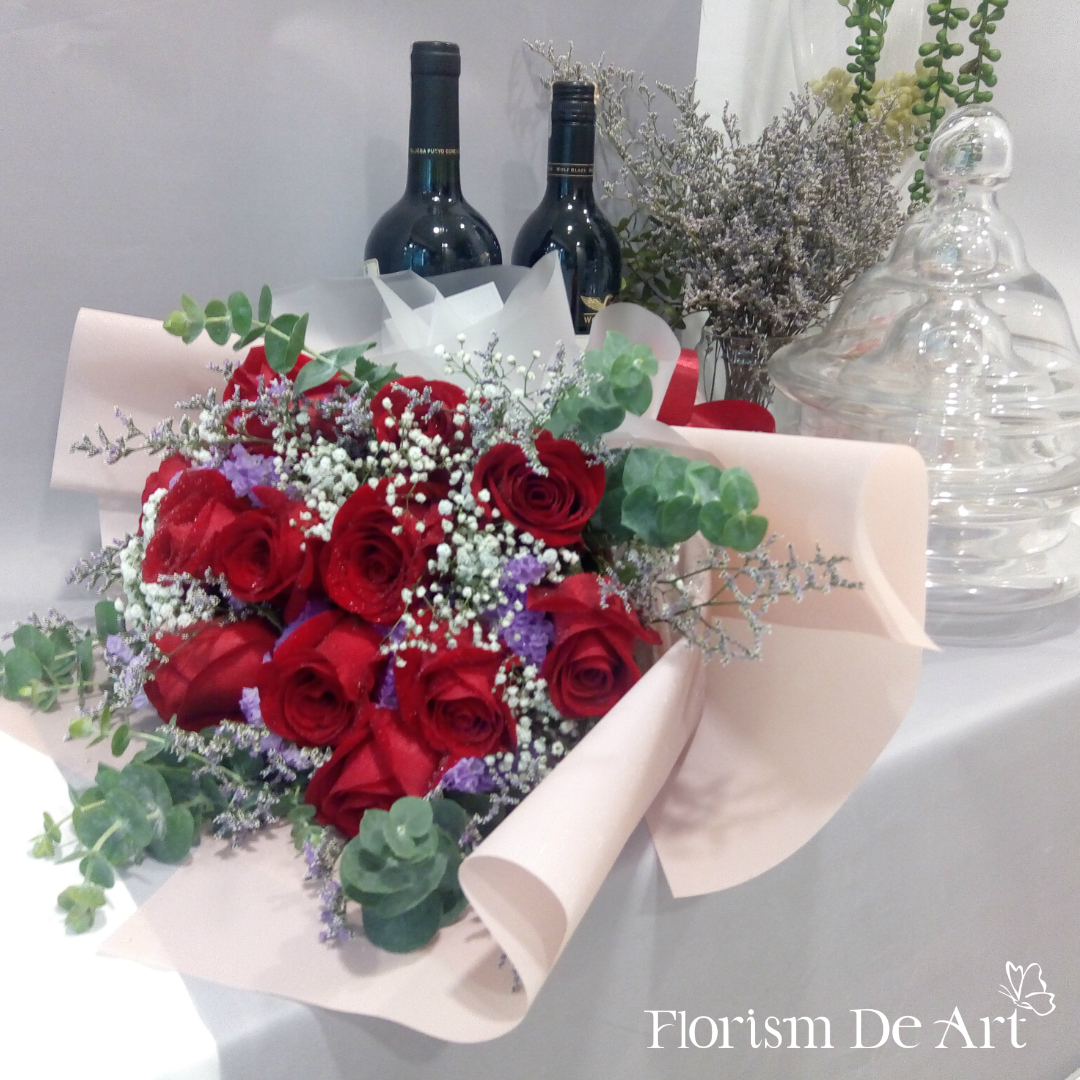 Florism De Art | Luxury Florist In The Heart Of Kuala Lumpur | Flowers For Your Occasion - Love