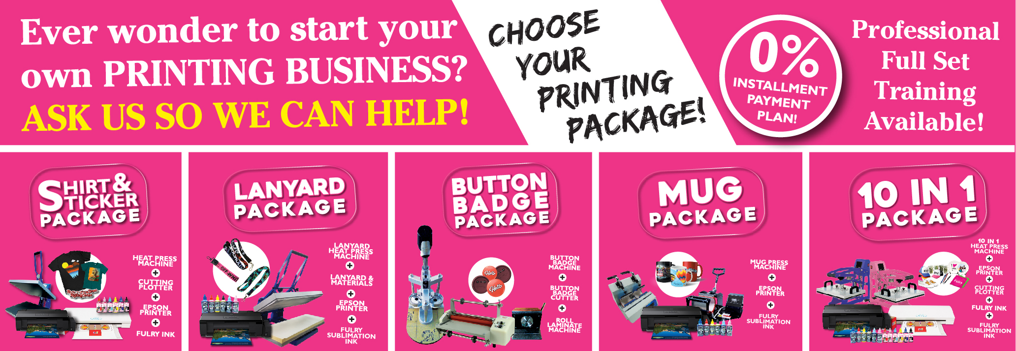 Heat Press Machine | Printing Materials Supplier Malaysia : Fulry |