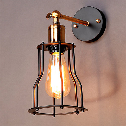 LW004 Industrial wire cage wall light.jpg