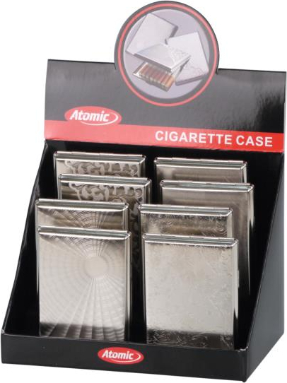 Cigarettecase Coney chrome decors assorted 100mm - 18er(613111)#2.jpg