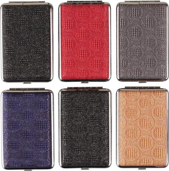 Cig.case leather look chrome frame asst.col. 85mm f. 14 cig(606606)#1.jpg