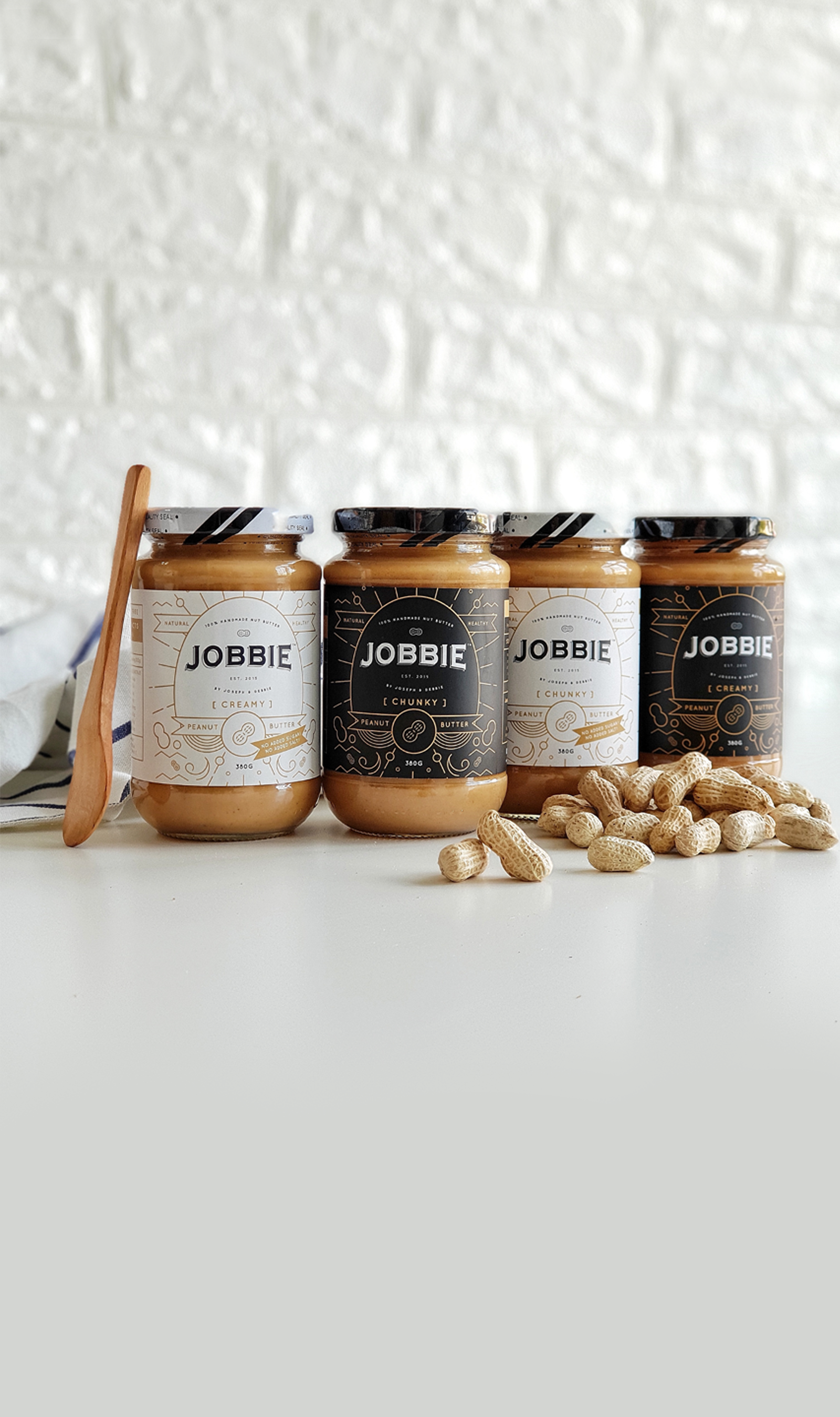 JOBBIE NUT BUTTER - Get fresh handmade peanut butter delivered to your doorstep |