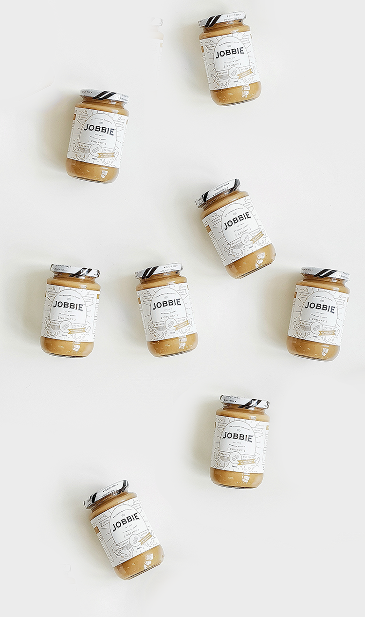 JOBBIE NUT BUTTER - Get fresh handmade peanut butter delivered to your doorstep | FREE SHIPPING