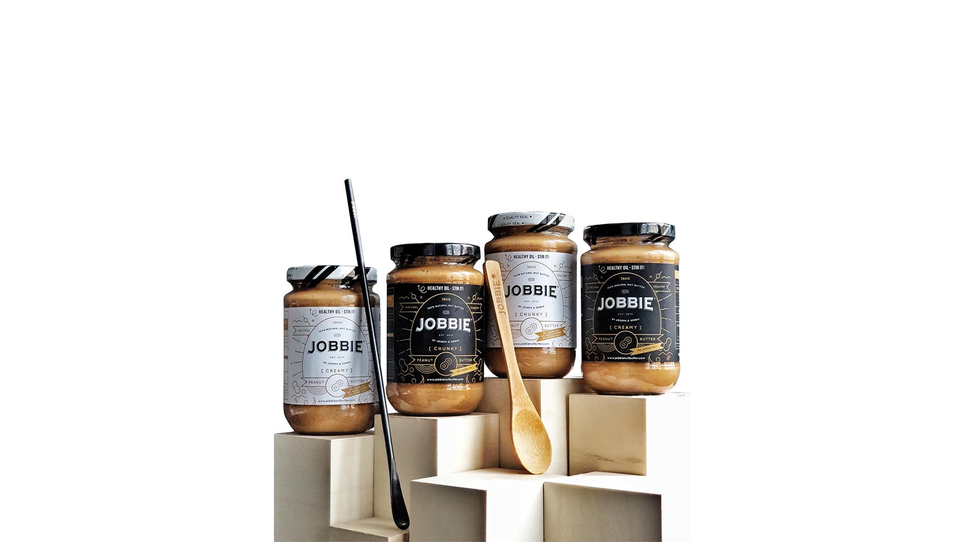 JOBBIE NUT BUTTER - Get natural peanut butter delivered to your doorstep | 18% off Jobbie Starter Kit