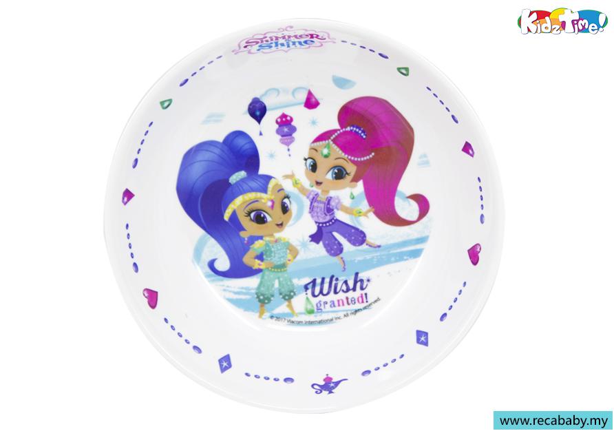SH-JH429-Kidztime x Shimmer & Shine Sparkle Sisters Melamine Children Dinnerware 7.5 Bowl.jpg