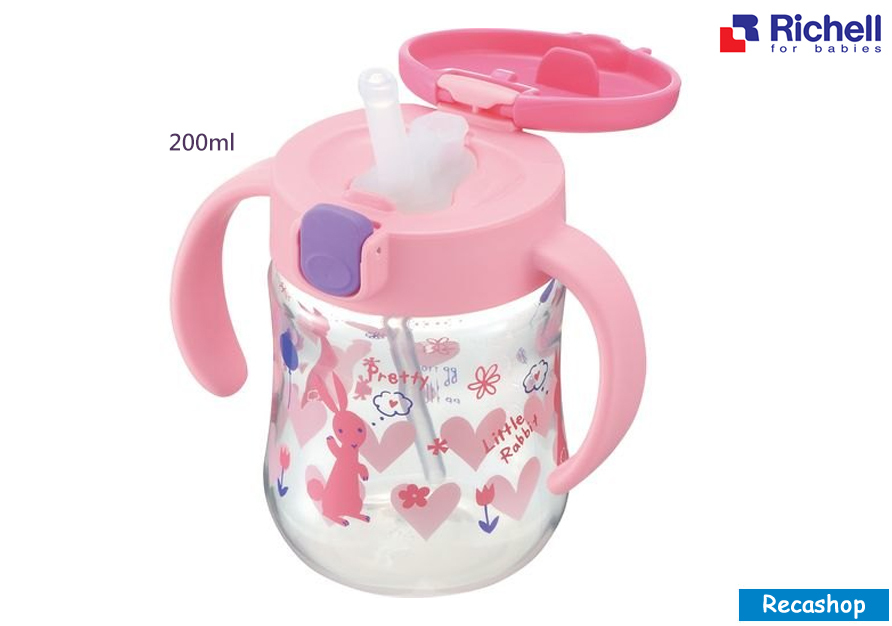 RICHELL TLI STRAW BOTTLE MUG 200-pink 1.jpg