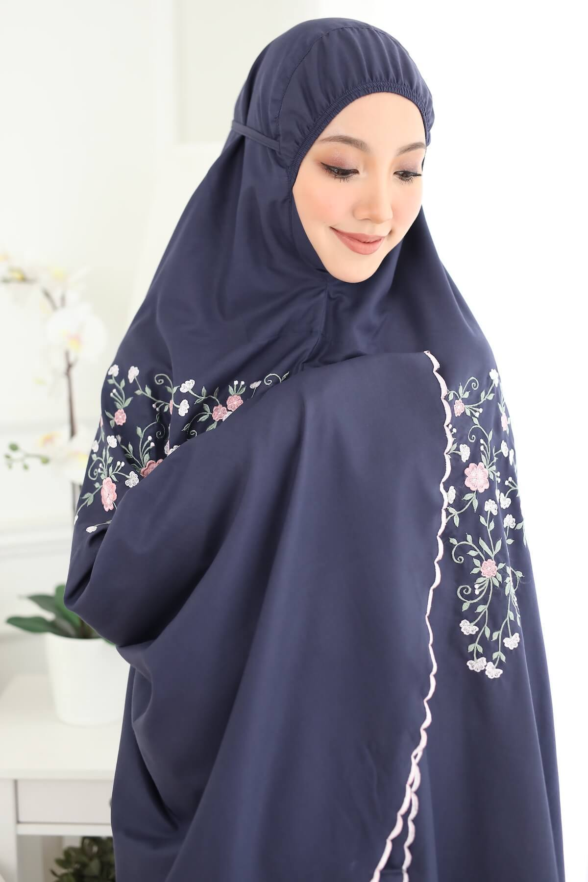 03_Telekung Iris by TCO - Navy Blue.JPG