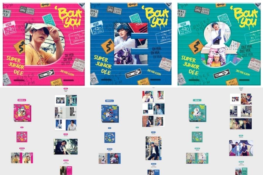 C4477A Super Junior D&E - Mini Album Vol.2 [Bout You]-tile.jpg