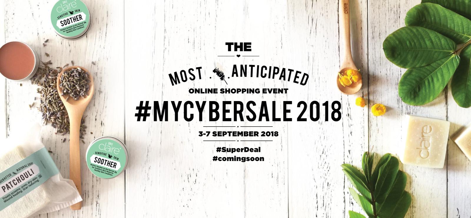 Claire Organics My CyberSale 2018
