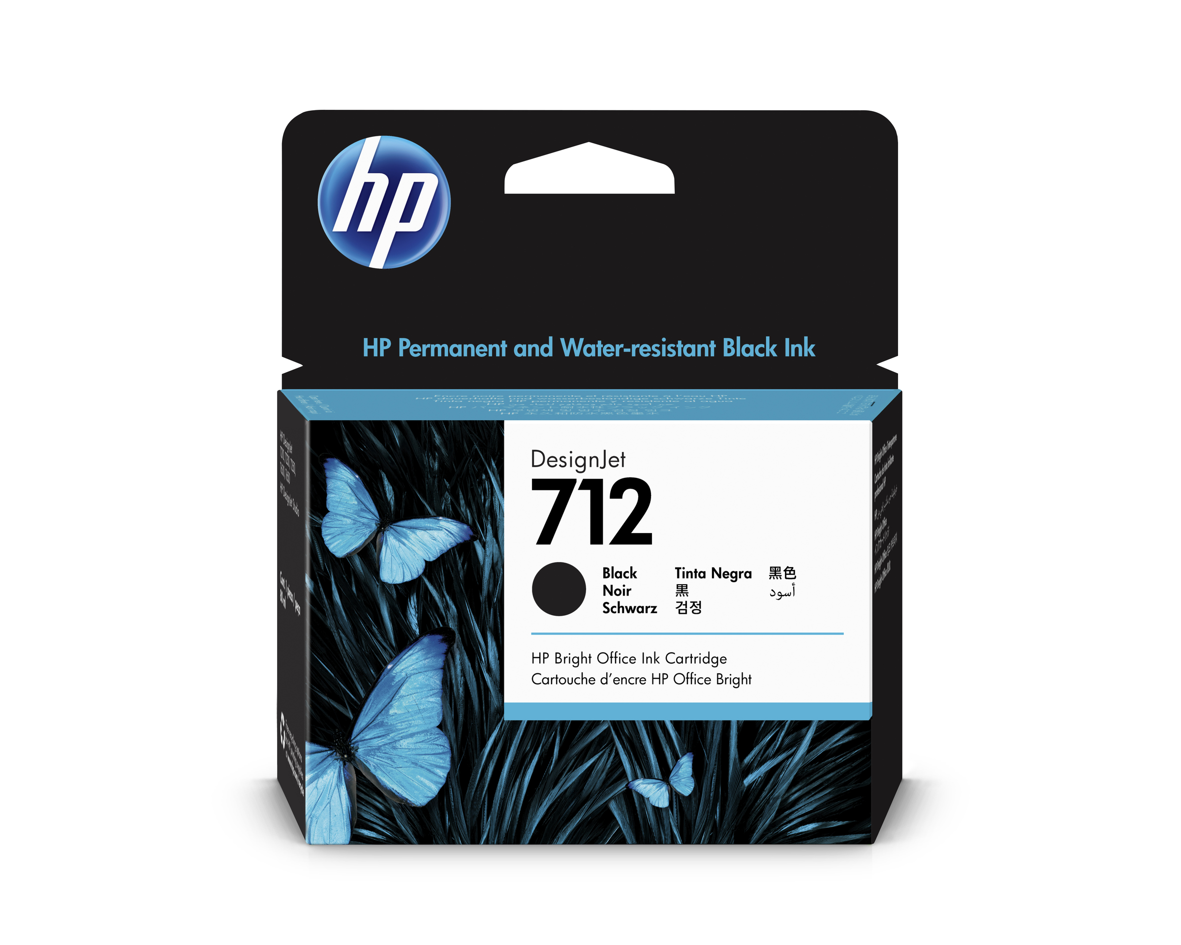 HP 712 80ml Black DesignJet Ink Cartridge WW.jpg