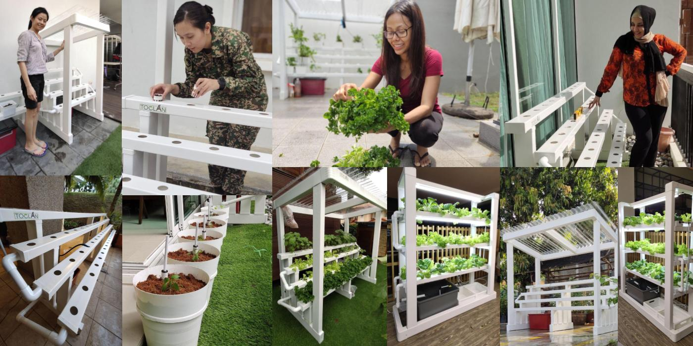 Toclan Asia | Urban Farming Specialist | Acres or Inches?