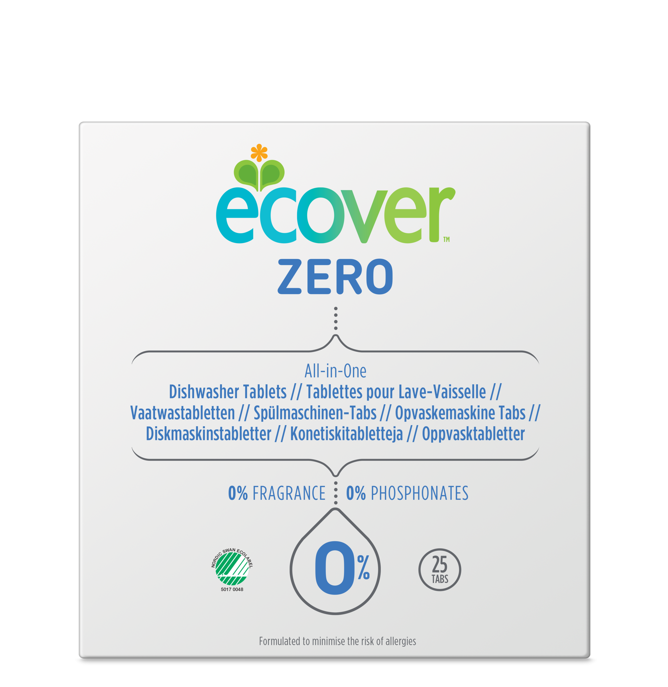 Ecover Zero Dishwasher All in One Tablets 0.5KG 8LANG_4004304.png