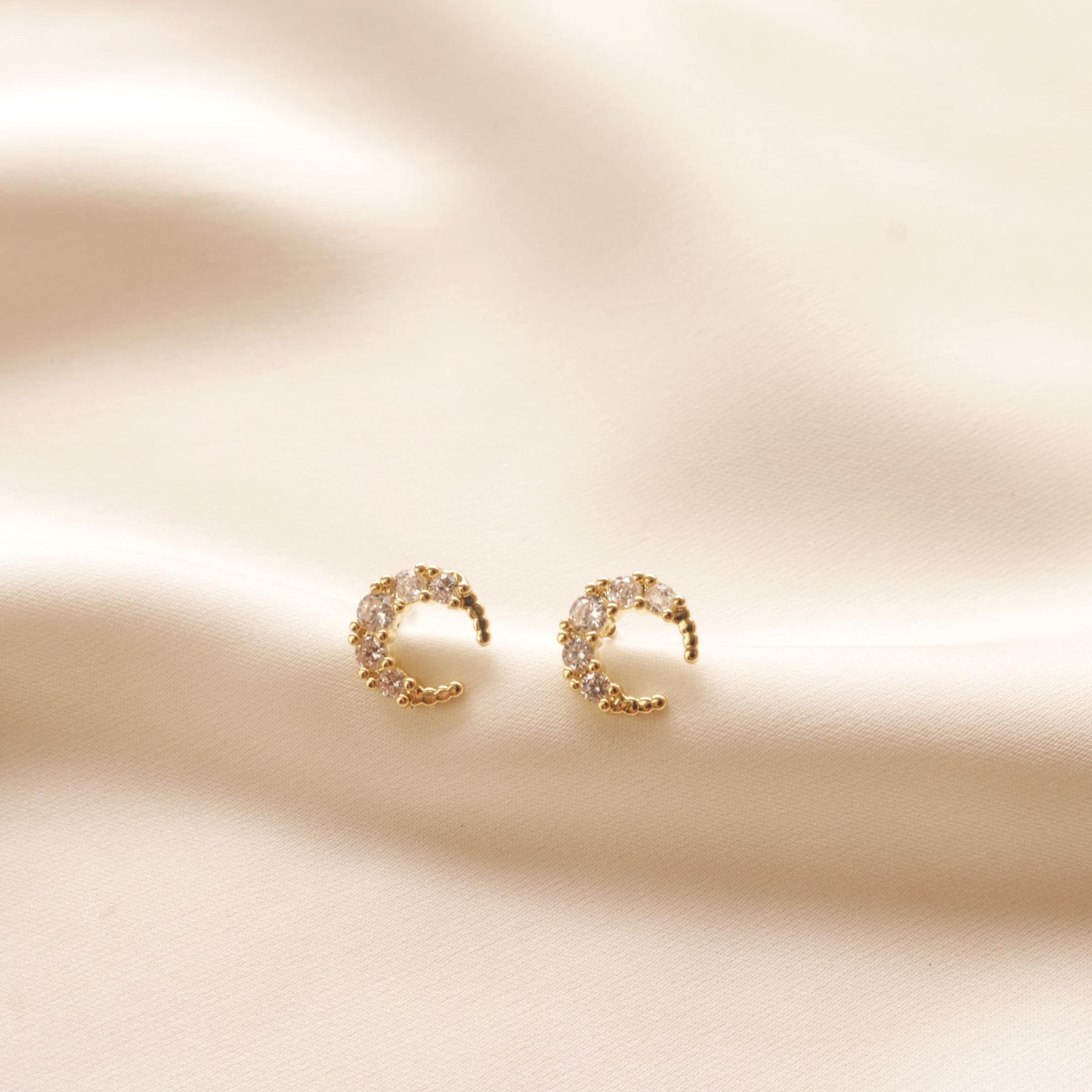 Aubree Moon Earrings