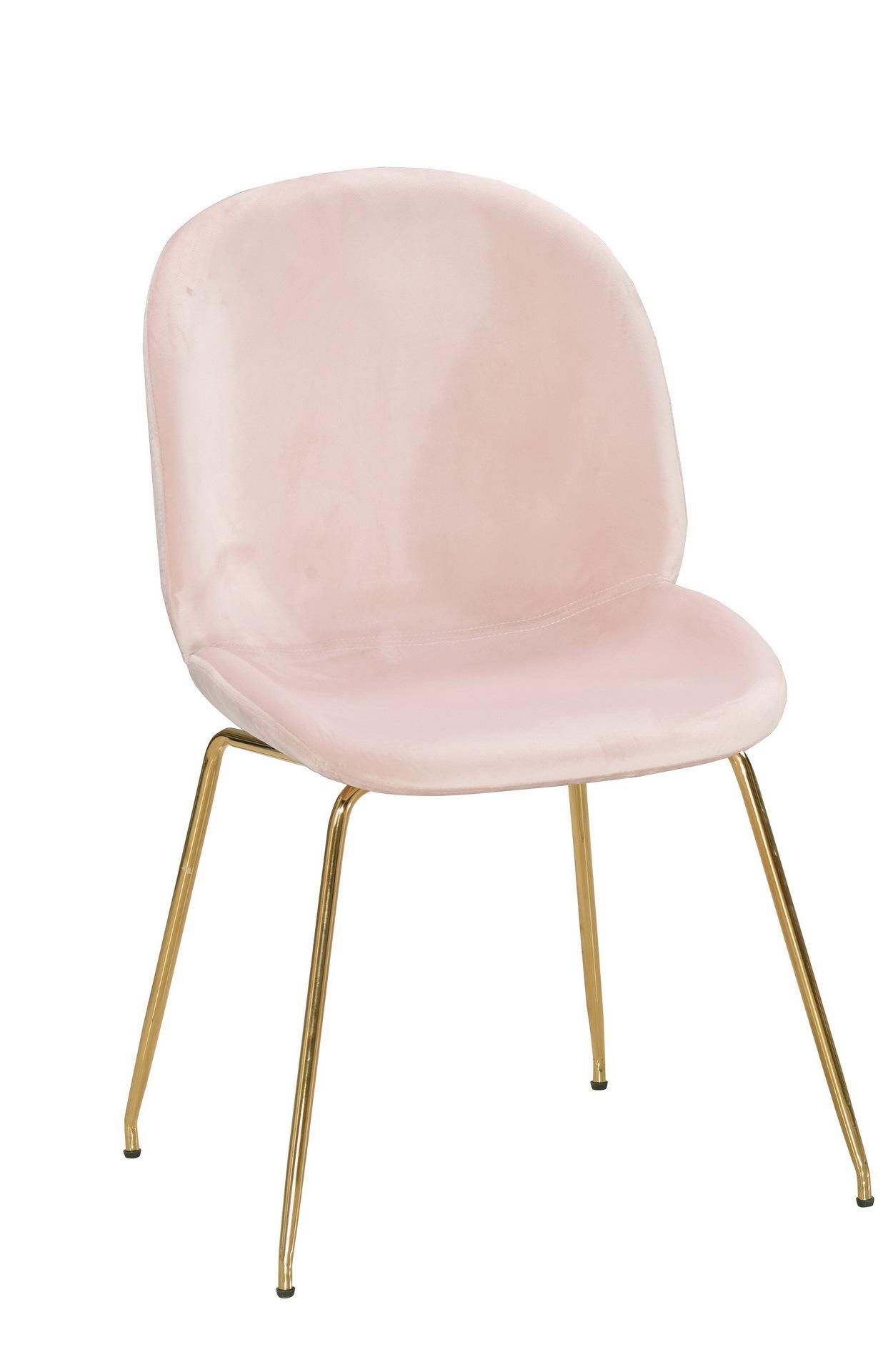 530-4 溫妮莎餐椅(粉布)(五金腳).jpg