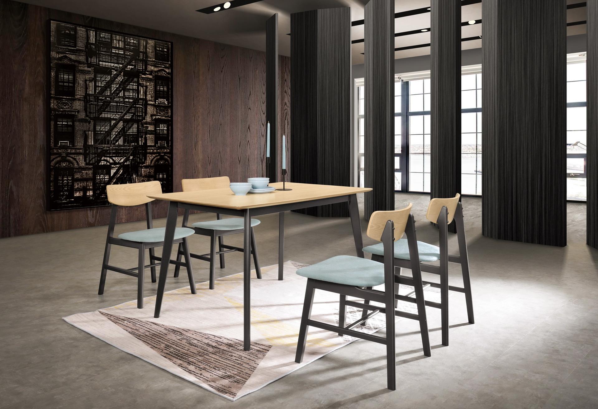 445-1 卡羅爾4尺餐桌(洗白色)+526-8.jpg