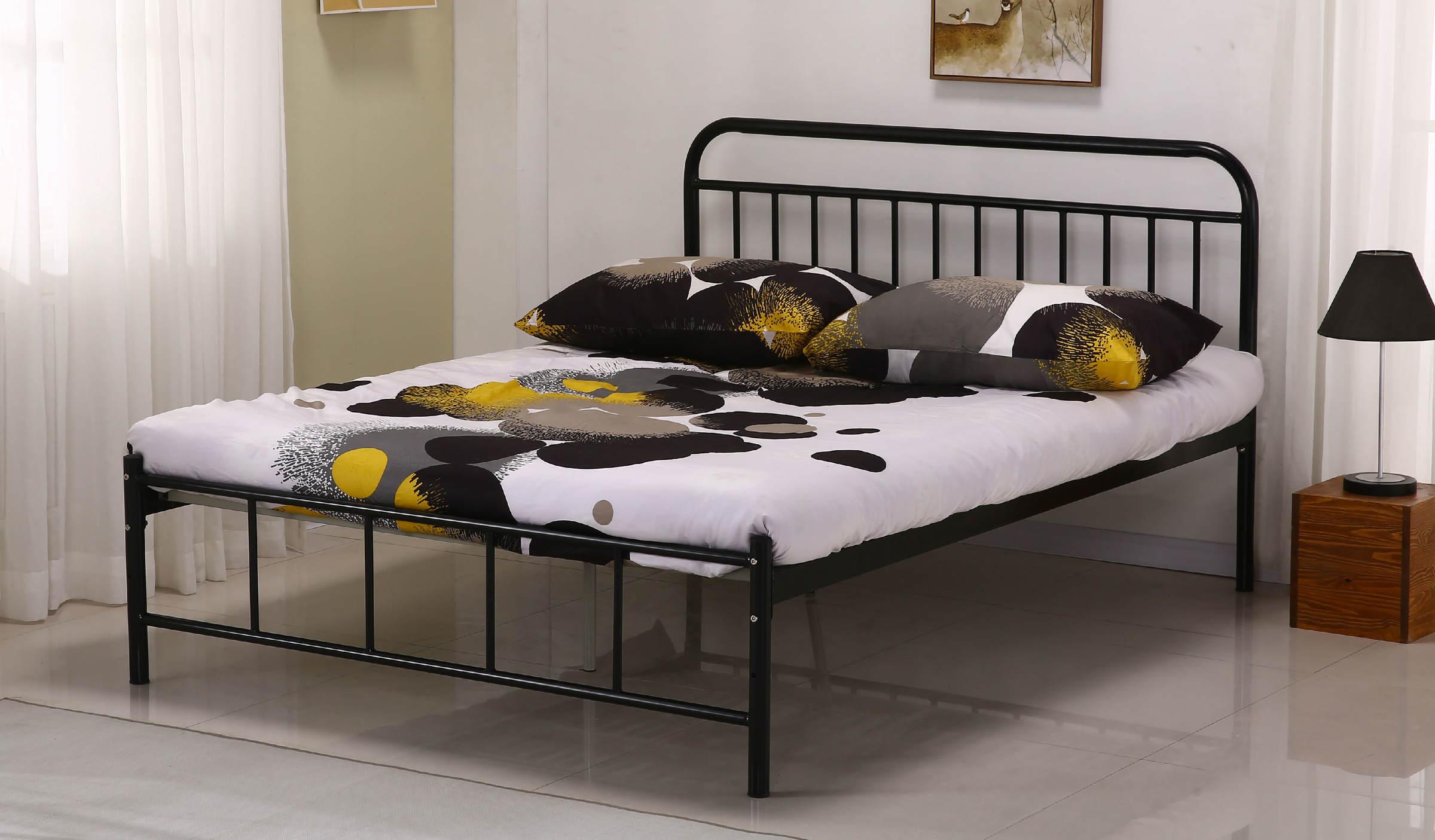 101-1丹尼5尺黑色雙人鐵床.jpg