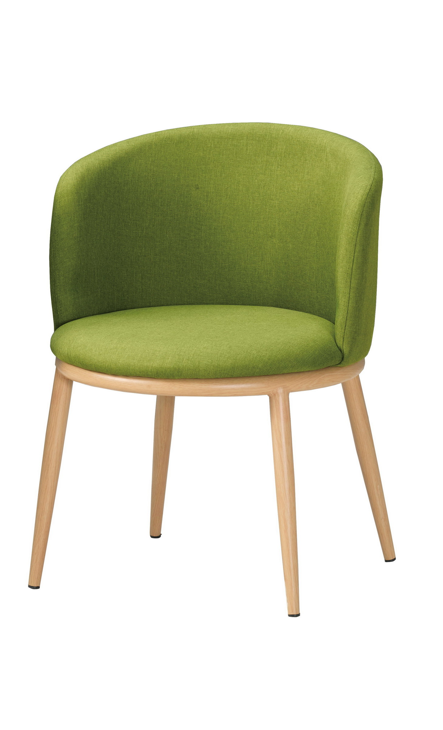 516-12 美諾瑪餐椅(綠色布).jpg
