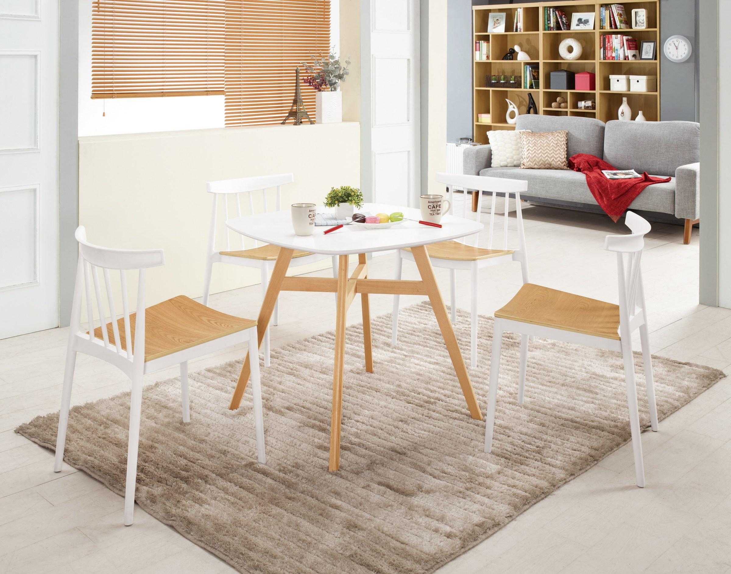 489-1 溫蒂2.6尺休閒桌(白色)+522-1.jpg