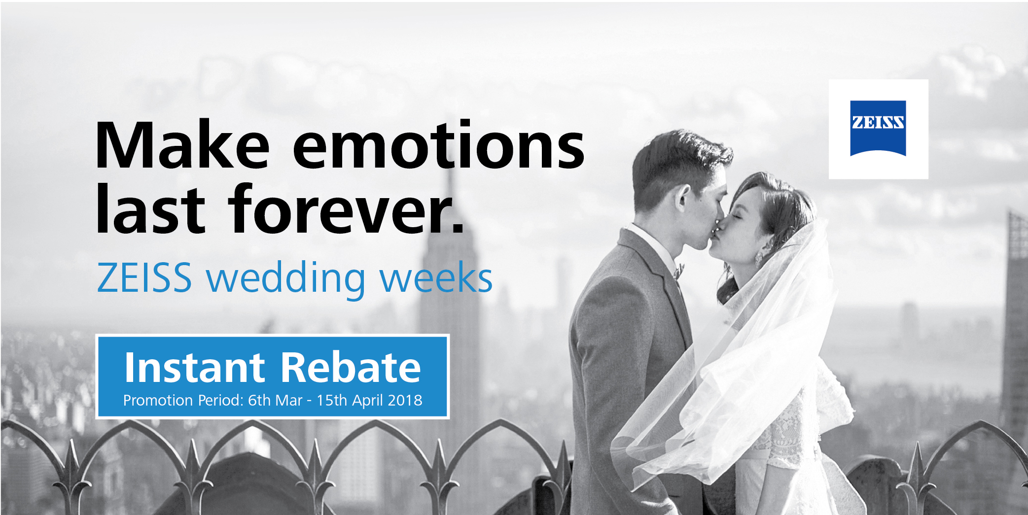 Zeiss Wedding Week Promo