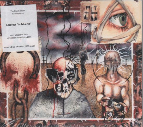 GOREFEST La Muerte (Limited Edition, Reissue) CD.jpg