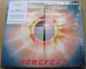 GOREFEST The Ultimate Collection Part 3 - Soul Survivor & Chapter 13 + Bonus (Limited Edition, Numbered, Reissue, Remastered) CD.jpg