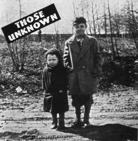 THOSE UNKNOWN Those Unknown CD.jpg