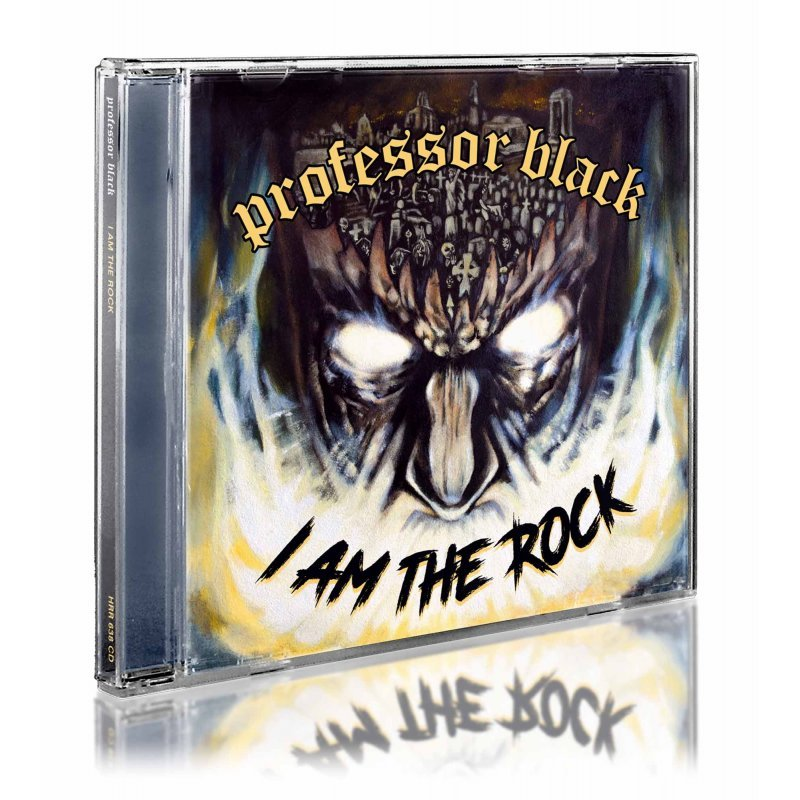 PROFESSOR BLACK I am the Rock CD.jpg