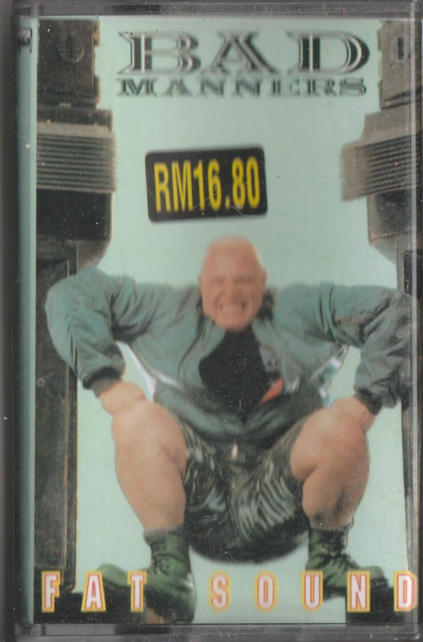 BAD MANNERS Fat Sound CASSETTE.jpg