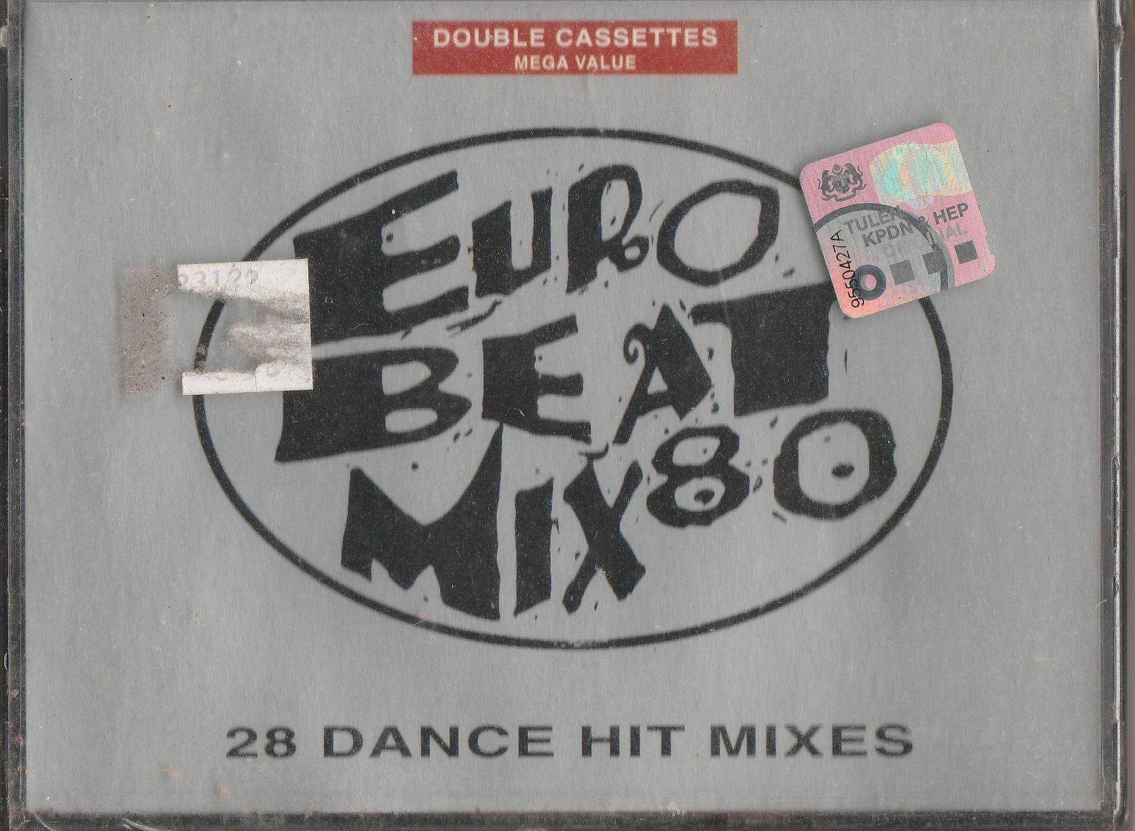 VARIOUS Euro Beat Mix 80 2-CASSETTE.jpg