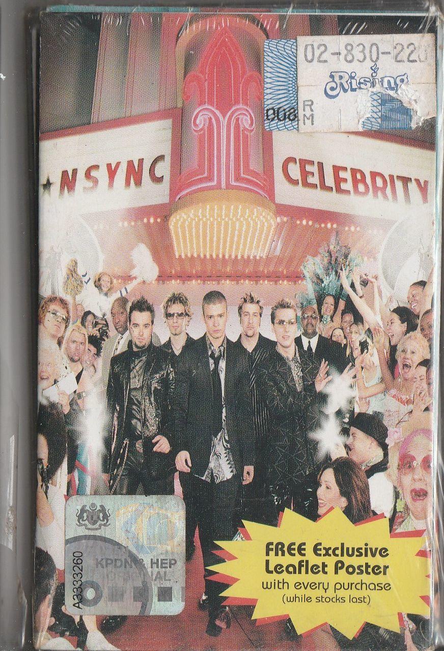 NSYNC Celebrity CASSETTE.jpg