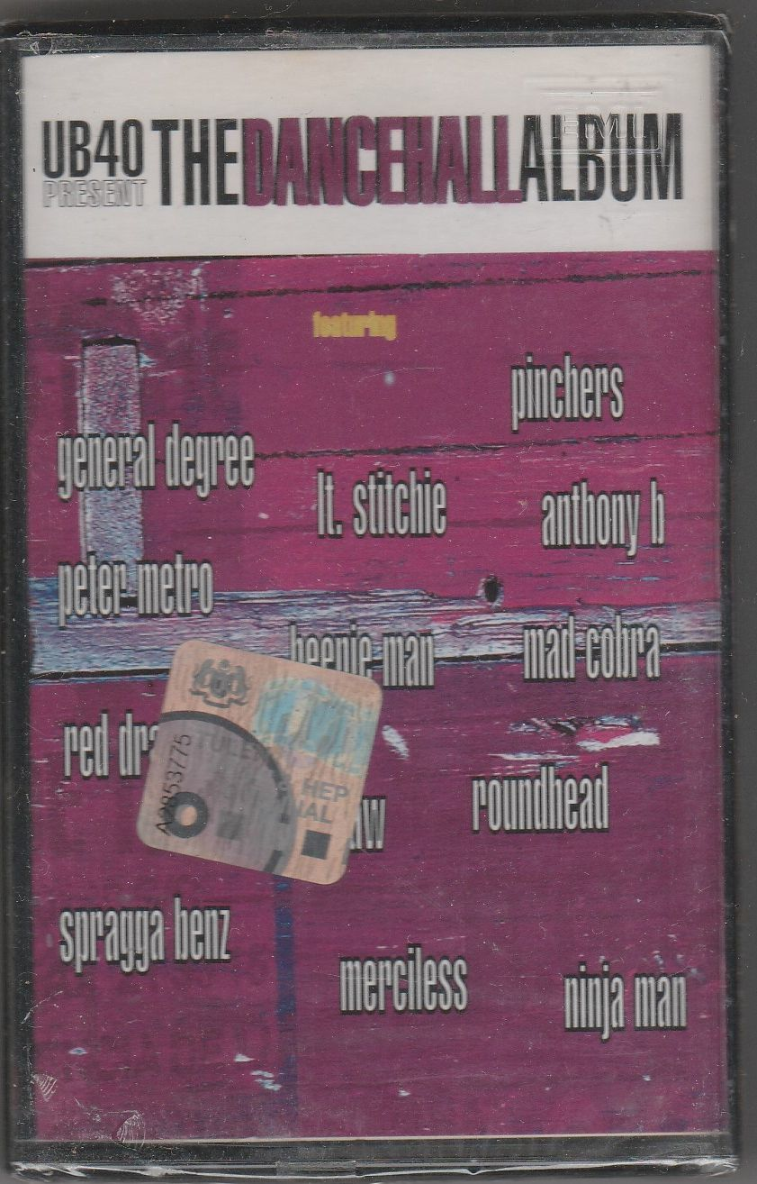 UB40 Present The Dancehall Album CASSETTE.jpg