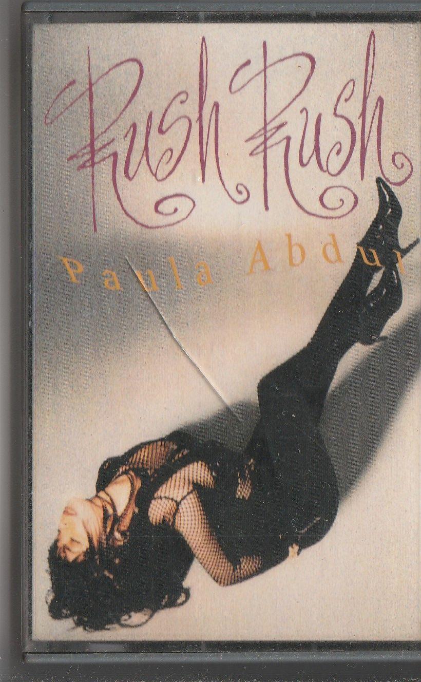 (Used) PAULA ABDUL Rush Rush CASSETTE.jpg