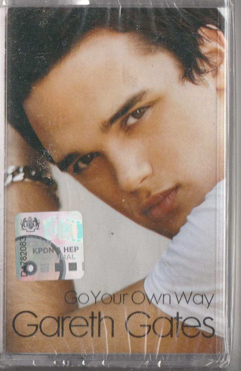 GARETH GATES Go Your Own Way CASSETTE.jpg