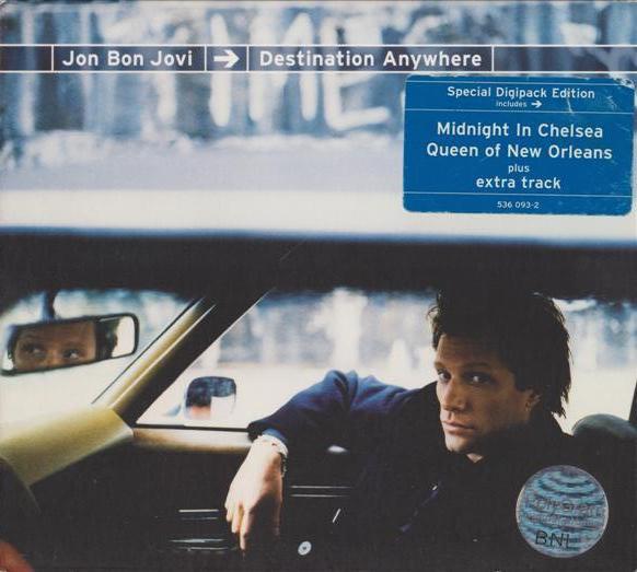 Jon Bon Jovi – Destination Anywhere CD.jpg