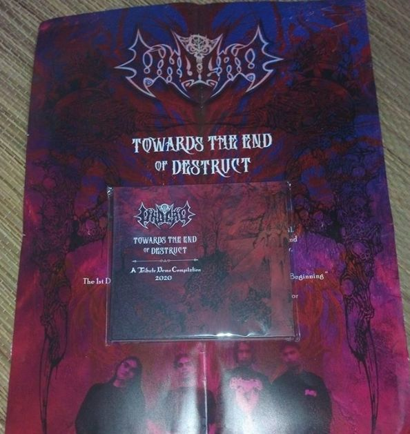 UNDEAD Towards The End of Destruct -  A Tribute Compilation Demos 2020 (Free A3 Poster) CD.jpg