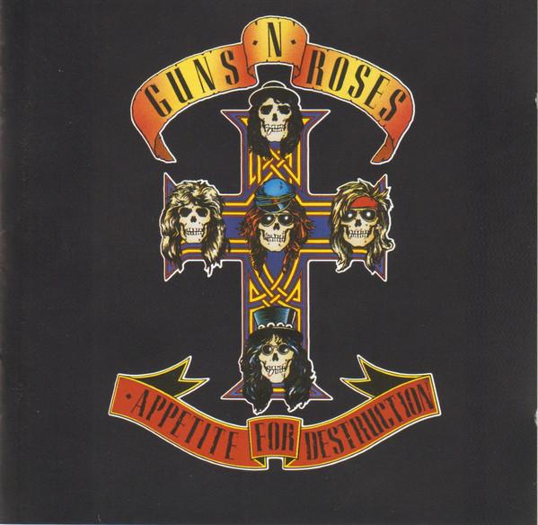 Guns N' Roses – Appetite For Destruction CD.jpg