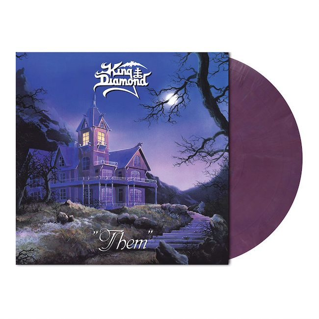 KING DIAMOND Them (Limited Edition, Reissue, Violet Pastel Marbled) LP.jpeg