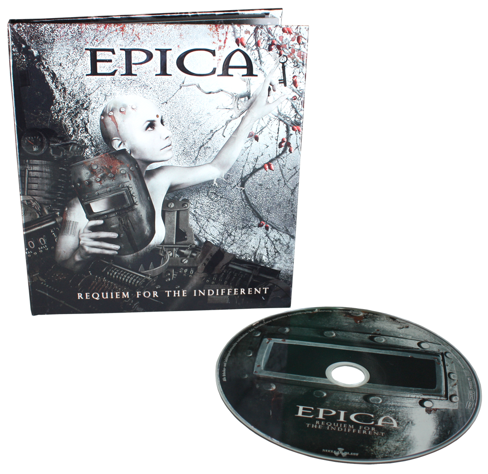EPICA Requiem For The Indifferent (Limited Edition, Repress, Digibook) CD.png