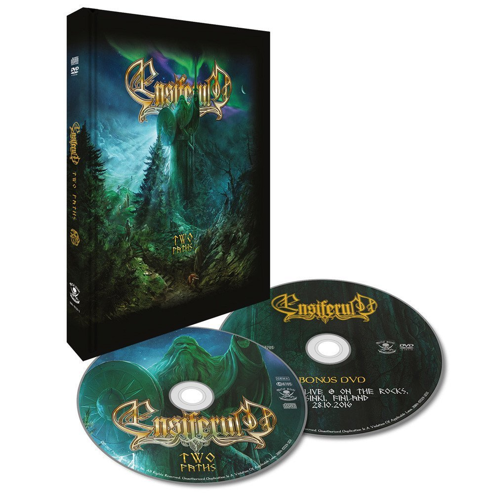 ENSIFERUM Two Paths (Limited Edition, Digibook) CD + DVD.jpg