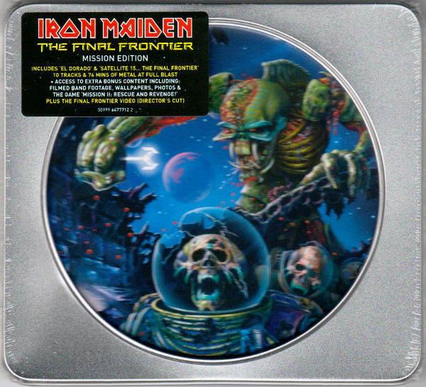 IRON MAIDEN The Final Frontier (Limited Edition, Mission Edition In Tin Casing) CD.jpg