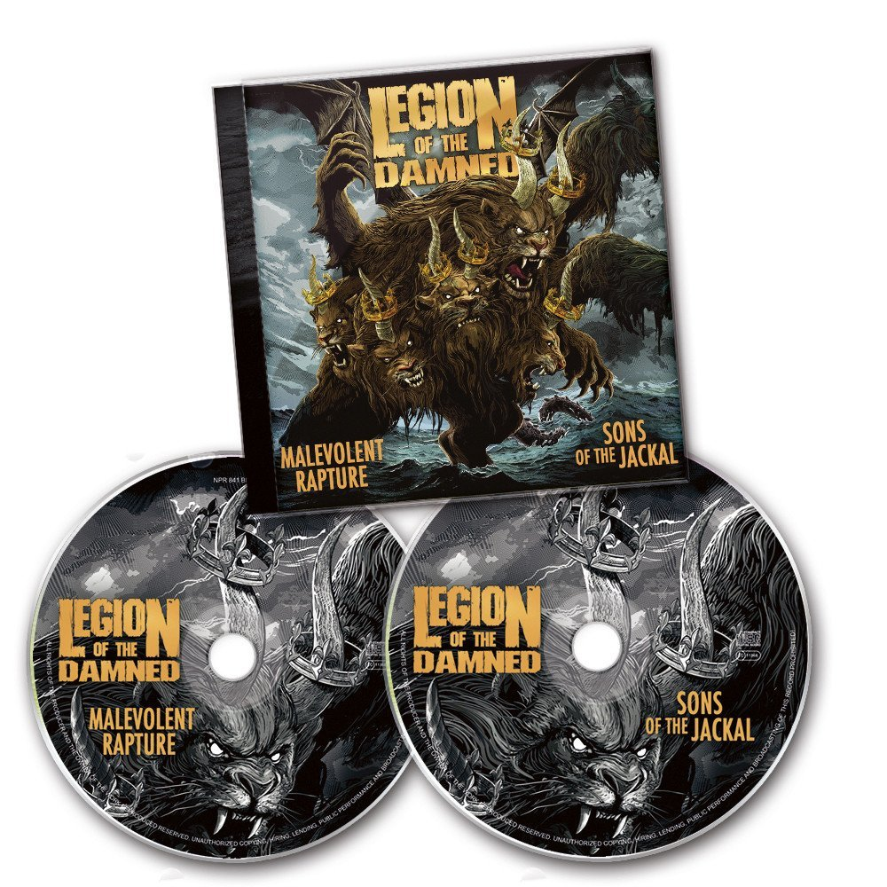 LEGION OF THE DAMNED Malevolent Rapture Sons Of The Jackal (Compilation, Limited Edition, Reissue) 2CD.jpg