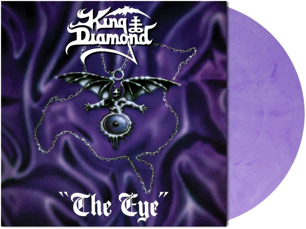 KING DIAMOND The Eye (Limited Edition, Reissue, Purple and Black Marble) LP.jpg