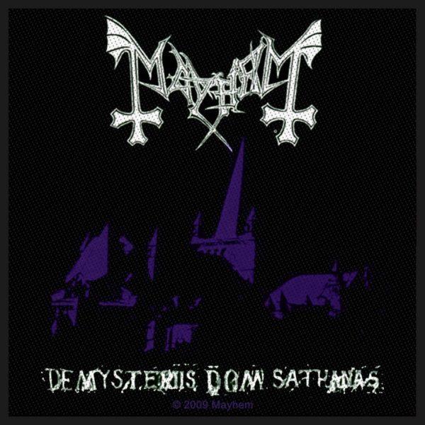 MAYHEM De Mysteriis Dom Sathanas (Razamataz) Patch.jpg